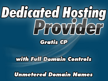 Moderately priced dedicated server accounts